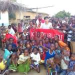[ガーナ再訪記32]くるくる会 in Africa ~オリンピックを目指して