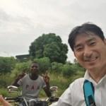 [ガーナ再訪記37]バイクタクシー ~快適な市民の足