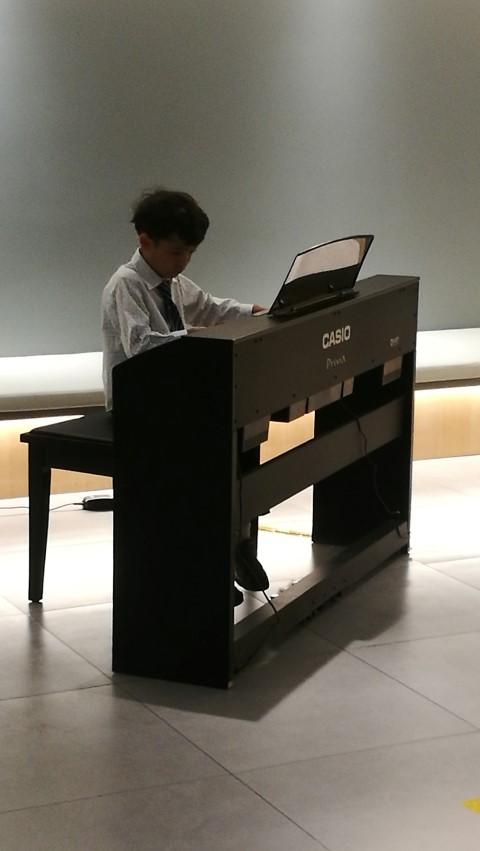[北京生活]次男ピアノ発表会 in 三里屯