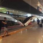 [上海旅行記10]最新型中国高速鉄道(復興号CR400)