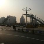 [ラン]ランニング仲間と寒中ラン(北京九門ラン)