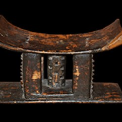 Stool Chair Ghana Tennis Umpire African Furniture For Sale | Africa And Beyond Ethnic Art Gallery