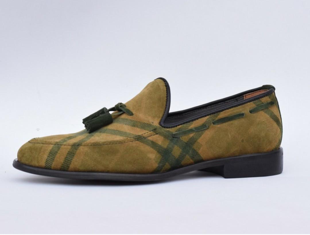4676253b318 Brown Designer Mens Dress Shoes for Wedding - Mens Tassel Loafers -  AFRICABLOOMS