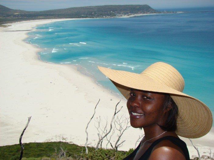 Blue Blue Sea At Long Beach In Cape Town