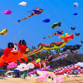 Cape Town International Kite Festival In Muizenberg