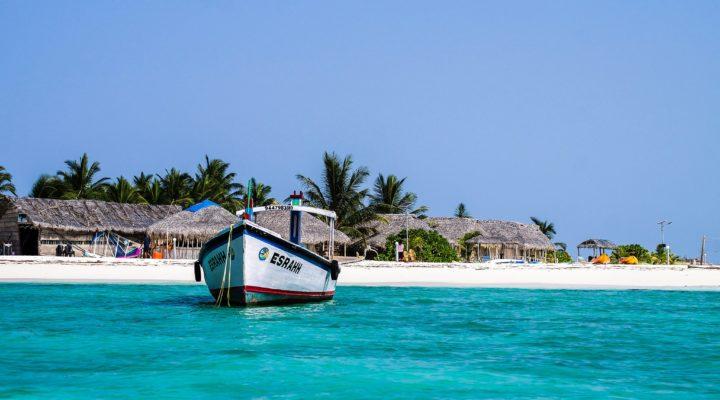 White sand beaches of Mozambique