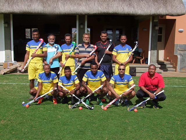 Trainees in Mauritius