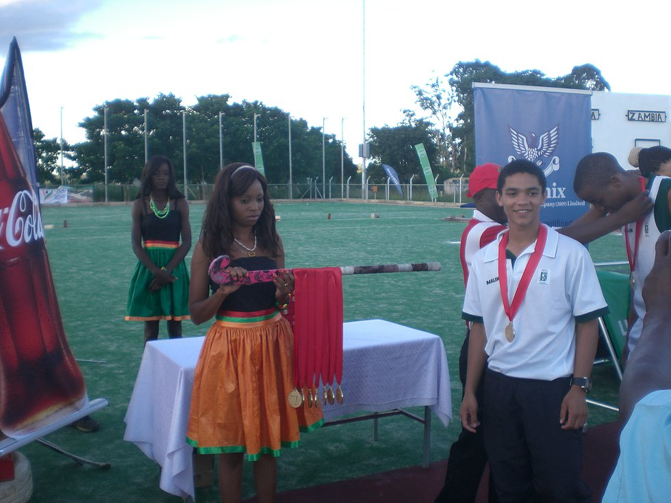 Youth Olympic Games Qualifiers-March 2014- Medals ceremony