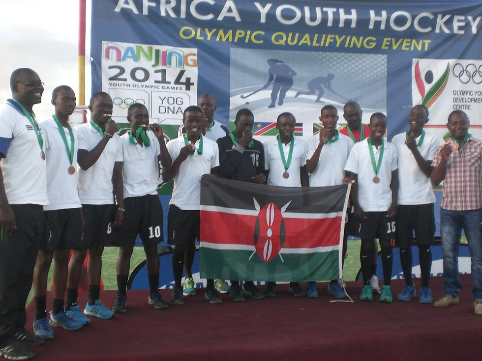 Youth Olympic Games Qualifiers-March 2014- Kenyan Team