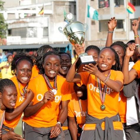 Orange celebration