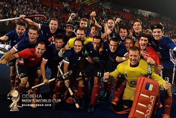 France create shockwaves on Day 9 of Odisha Hockey Men's World Cup Bhubaneswar 2018