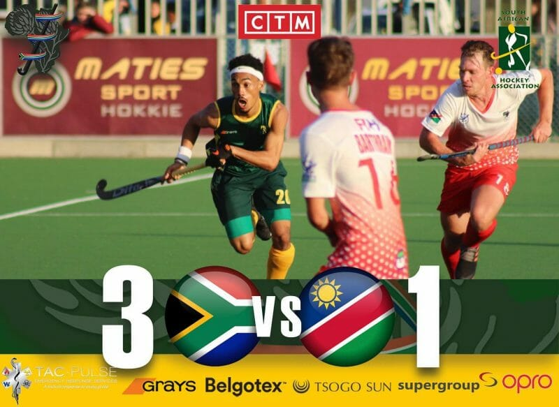 SA Hockey Men get started on the African Hockey Road to Tokyo 2020
