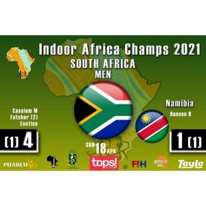 South Africa Men Are Champions