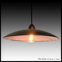 The Artist - copper pendant lamp shade - Africa Impulse ...