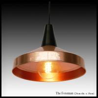 The Foreman - copper pendant lamp shade - Africa Impulse ...