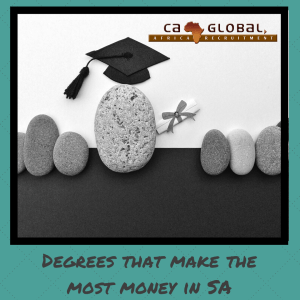 Degrees that make the most money in SA