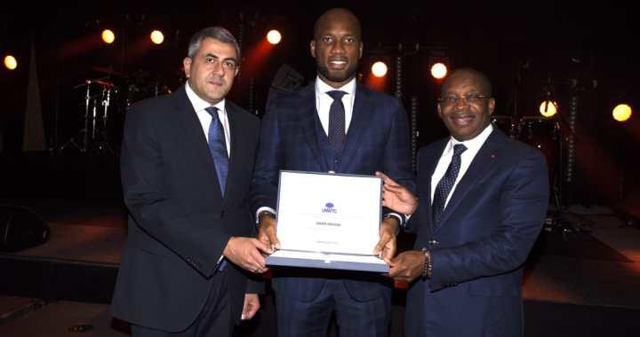 Tourisme: Didier Drogba, nouvel ambassadeur de l'OMT