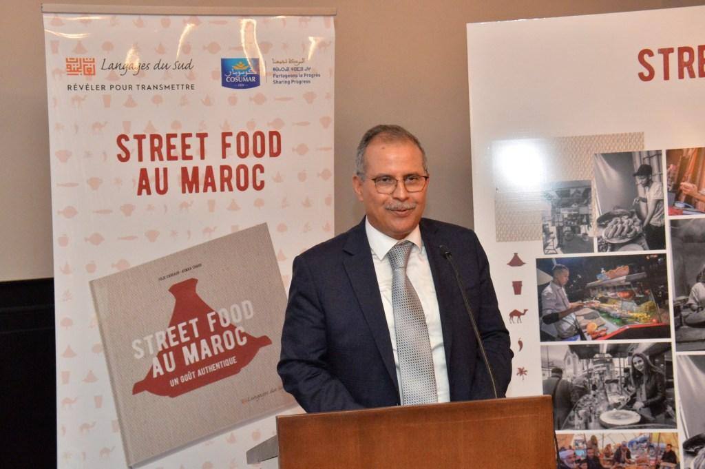 """Présentation de l'ouvrage """"Street food au Maroc, un goût authentique"""""""