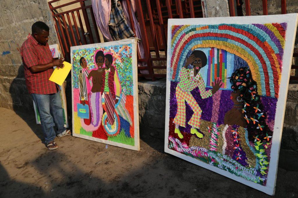 Deux biennales en RDC: des artistes congolais en quête d'un marché intérieur