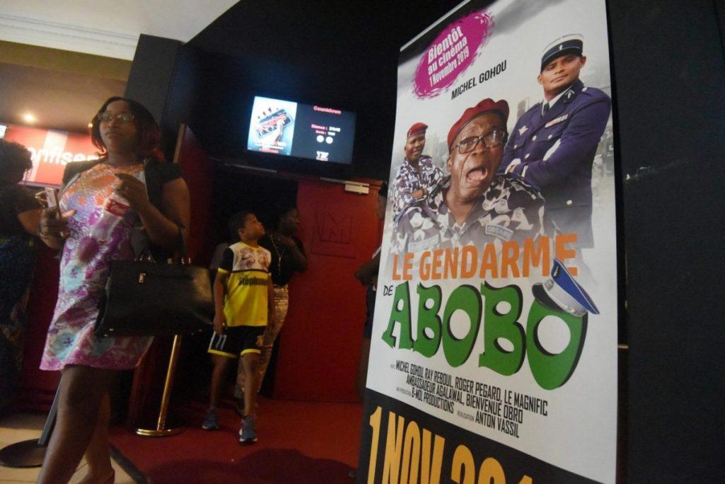 """""""Le gendarme de Abobo"""", avec le """"De Funès africain"""", fait rire Abidjan"""