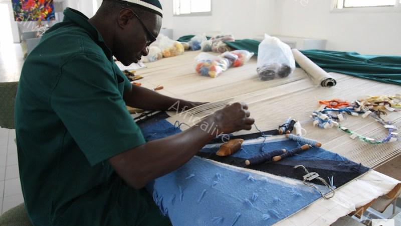 Arazzi made in Senegal: la Manufattura d'Arti decorative di Thies