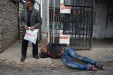 The man photographed stabbing Mozambican national Emmanuel Sithole to death has been arrested