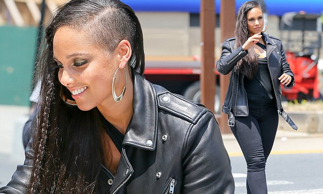 Alicia Keys Rocks New Undercut And Braided Hairstyle ...