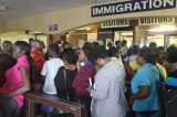Mass Exodus Into South Africa