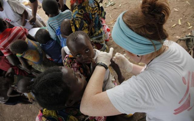 Measles outbreak in Congo