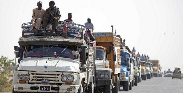 Poor Electronic Network Halts Hundreds of Lorries in South Darfur