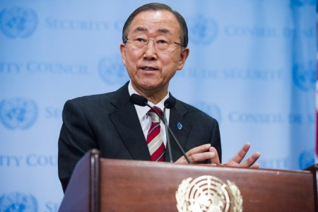 """Ban Ki-moon: """"Social and economic development can only be led by the private sector"""""""