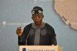 National Leader of All Progressives Congress ,APC, Asiwaju Bola Tinubu's Plane Helped Remove Jammeh