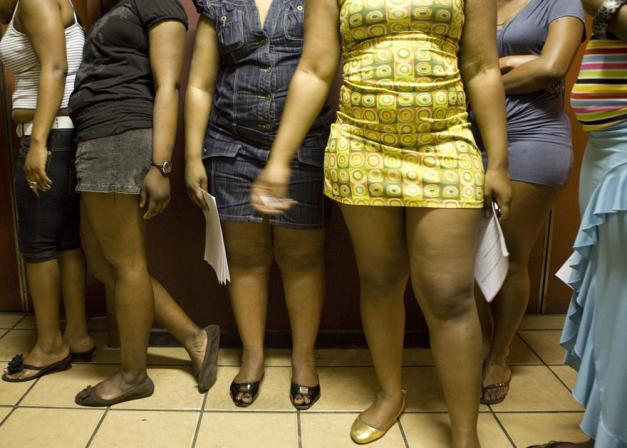 White south african prostitutes