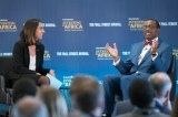 Adesina Chairs session on Infrastructure Financing at Wall Street Journal's 'Investing in Africa' Conference in London