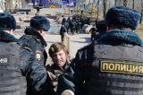 Anti-Corruption Protests In Russia's Pushkin Square
