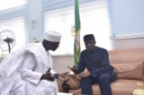 Nigerian VP Yemi Osinbajo Meets Guinea Bissau Prime Minister