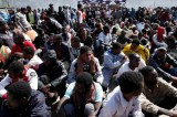 Thousands of migrants rescued on Mediterranean in a single day