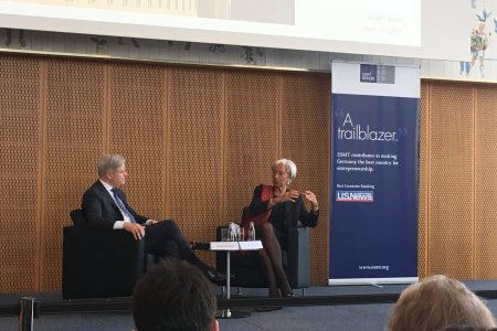 Innovation, Technology and Growth: A Conversation with Christine Lagarde: What She said
