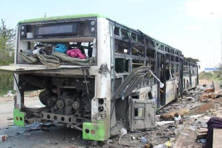 At least 68 children among 126 killed' in Syria bus bombing