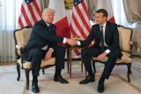 French President Macron says long Trump handshake 'not innocent'