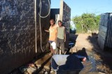 Namibian Township Fetch Drinking Water From Toilets