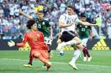 Mexico beats defending champion Germany 1-0 at World Cup
