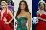 Top Russian supermodels strip off in support of national football team