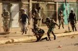 Zimbabwe's capital turns into battlefield