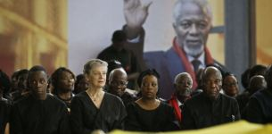 Final Farewell to UN's Kofi Annan at Ghana State Funeral