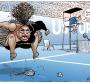 Australian cartoonist under fire for Serena Williams sketch