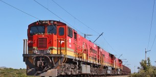 Transnet tests the world's longest train to help miners of manganese