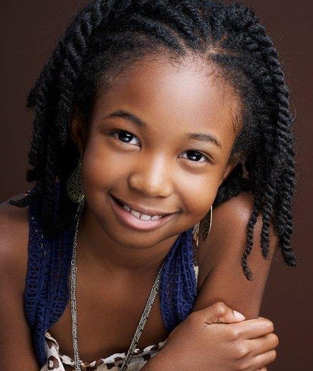 Black Child Natural Hairstyles Fusion Hair Extensions Nyc
