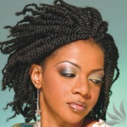 chunky natural hair twists african