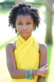 child natural hair african american